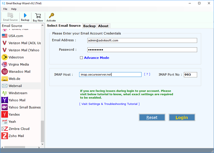 migrar de cpanel a gmail