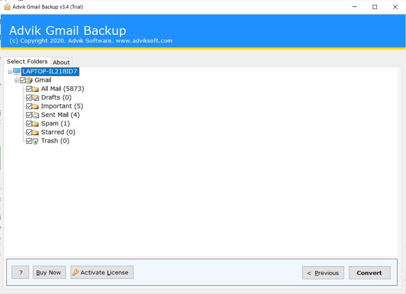 descargar correos electrónicos de Gmail en el disco duro